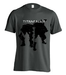 T-Shirt Unisex Titanfall 2. Character Silhouettes