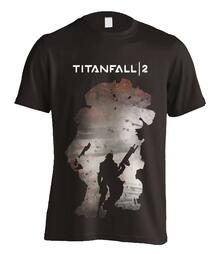 T-Shirt Unisex Titanfall 2. Regie Silhouette