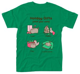T-Shirt Unisex Tg. M Pusheen. Holiday Gifts
