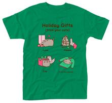 T-Shirt Unisex Tg. L Pusheen. Holiday Gifts