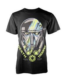 T-Shirt Unisex Tg. L Star Wars Rogue One. Death Trooper