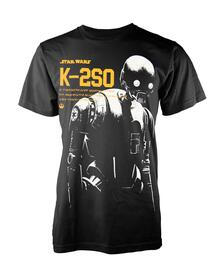 T-Shirt Unisex Tg. 2XL Star Wars Rogue One. K-2So