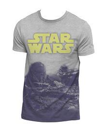 T-Shirt Unisex Tg. L Star Wars Rogue One. Ground Battle