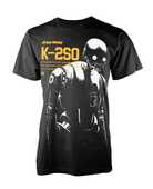 Idee regalo T-Shirt Unisex Tg. M Star Wars Rogue One. K-2So PHM