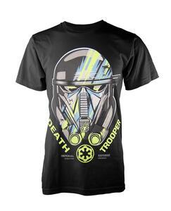 T-Shirt Unisex Tg. S Star Wars Rogue One. Death Trooper
