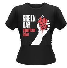 Green Day. American Idiot T-Shirt, Girlie Womens: 14