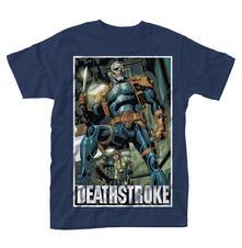 T-Shirt unisex Dc Comics Deathstroke. Unmasked