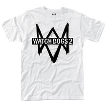 T-Shirt Unisex Tg. L Watch Dogs 2. Logo