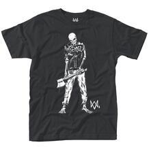 T-Shirt Unisex Tg. M Watch Dogs 2. Skeleton Logo