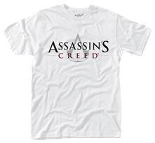 T-Shirt unisex Assassin's Creed. Logo (White)
