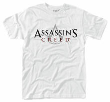 T-Shirt unisex Assassin's Creed. Logo (White)