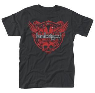 T-Shirt unisex Lamb Of God. Snake And Eagle