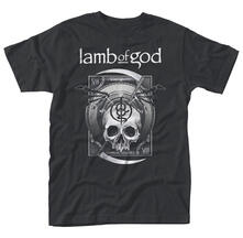 T-Shirt unisex Lamb Of God. Sickle Skull T-Shirt