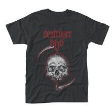 T-Shirt Bambino Destroyer 666. Skull