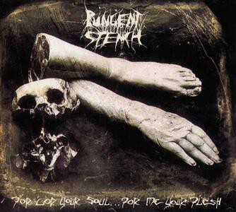 For God Your Soul for Me Your Flesh - Vinile LP di Pungent Stench