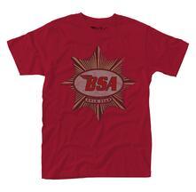 T-Shirt Unisex Bsa. Gold Star Badge