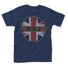 T-Shirt Unisex Bsa. Union Jack Logo