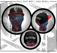 Cappellino Fall Out Boy. Usa Skull