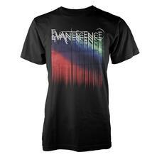T-Shirt Unisex Evanescence. Tour Logo
