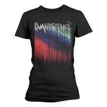 T-Shirt Donna Evanescence. Tour Logo