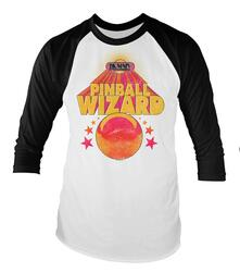 Baseball Shirt Unisex Who. Pinball Wizard