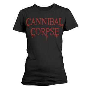 T-Shirt Donna Cannibal Corpse. Dripping Logo