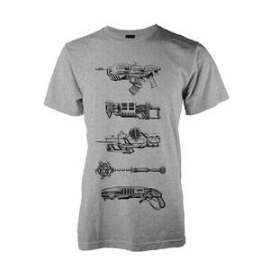 T-Shirt Unisex Gears Of War 4. Weapons