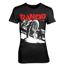 T-Shirt Donna Rancid. Boot