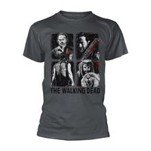 T-Shirt Unisex Tg. M Walking Dead, The. 4 Characters