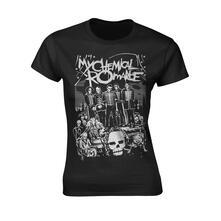 T-Shirt Donna Tg. XL My Chemical Romance. Dead Parade