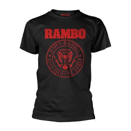 T-Shirt Unisex Tg. S Rambo. First Blood 1982