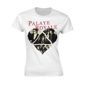 T-Shirt Donna Tg. M Palaye Royale. Heart
