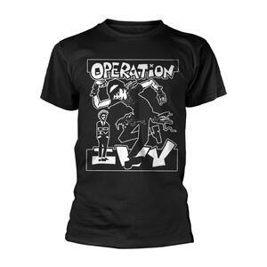 T-Shirt Unisex Tg. S Operation Ivy. Skankin'