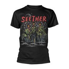 T-Shirt Unisex Tg. S Seether. Mind Control