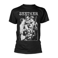 T-Shirt Unisex Tg. M Seether. Happy Family