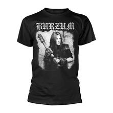 T-Shirt Unisex Tg. S Burzum. Anthology 2018