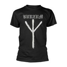 T-Shirt Unisex Tg. S Burzum. Rune
