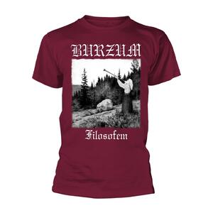 T-Shirt Unisex Tg. M Burzum. Filosofem 2018