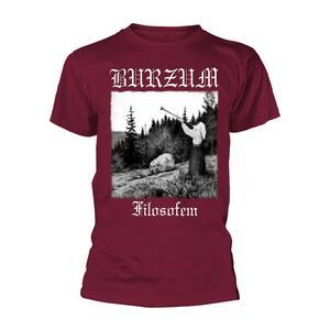 T-Shirt Unisex Tg. L Burzum. Filosofem 2018