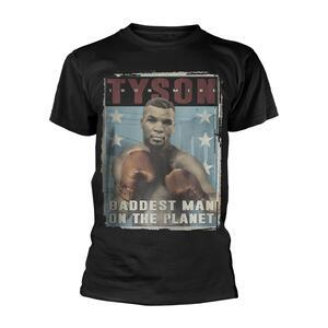 T-Shirt Unisex Tg. L Mike Tyson. Tyson Vintage Poster