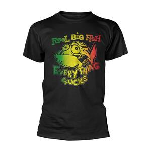 T-Shirt Unisex Tg. S Reel Big Fish. Everything Sucks