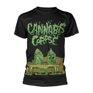 T-Shirt Unisex Tg. S Cannabis Corpse - Weed Dudes