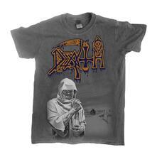 T-Shirt Unisex Tg. S Death - Leprosy - Vintage Wash