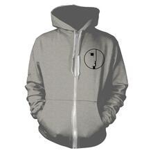 Felpa Con Cappuccio Unisex Tg. S Bauhaus - Logo Grey Zip