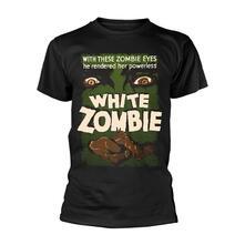 T-Shirt Unisex Tg. 2XL Plan 9 - White Zombie - Poster Black