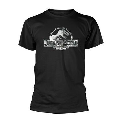 T-Shirt Unisex Tg. L Jurassic World - Logo