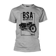 T-Shirt Unisex Tg. XL. Bsa: Bsa Motorcycles Tall Box
