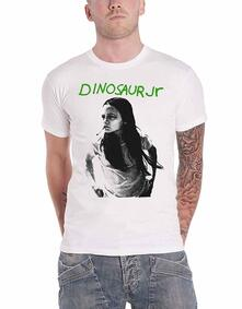 T-Shirt Unisex Tg. M. Dinosaur Jr - Green Mind