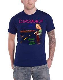 T-Shirt Unisex Tg. M. Dinosaur Jr - Where You Been