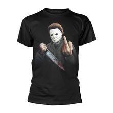 T-Shirt Unisex Tg. S. Halloween: Middle Finger